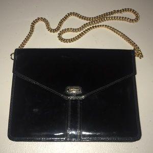 Ferragamo Patent Leather Handbag Vintage